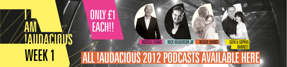!Audacious Conference WEEK 1 - PODCASTS